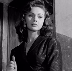 Sylva Koscina - Koscina in The Railroad Man (1956)