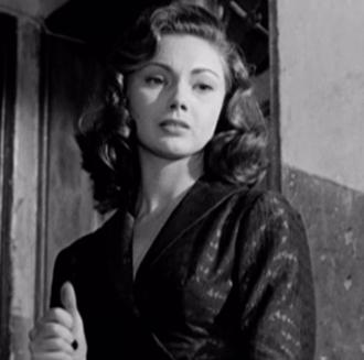 Sylva Koscina - Koscina in The Railroad Man (1956)