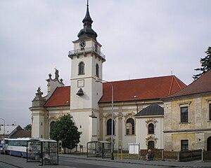 Heřmanův Městec - Saint Bartholomew Church