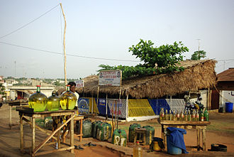 Ouémé Department - A market in the region