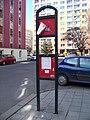 Kralupy nad Vltavou, Nerudova, zastávka MHD.jpg