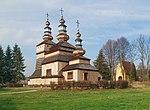 Krempna, cerkiew, widok od poł.-wsch.jpg
