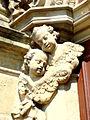 Krzeszów, detal w portalu głównym Bazylika Mniejszej Wniebowzięcia Najświętszej Maryi Panny - 12.04.2009 - (Aw58)r.).JPG