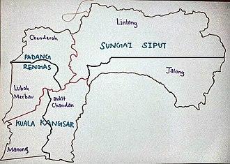 Kuala Kangsar District - Map of Kuala Kangsar District