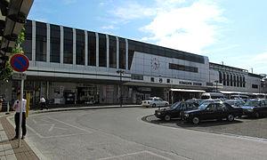Kumagaya Station - Kumagaya Station north entrance in June 2011