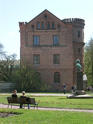 Peace of Lund - Kungshuset (Royal castle) in Lund