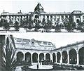 Kunstpalast in Düsseldorf, erbaut für die Industrie- und Gewerbeausstellung Düsseldorf im Jahr 1902, Grundriss Entwurf Albrecht Bender, Fassade Entwurf Eugen Rückgauer, Fassaden.jpg