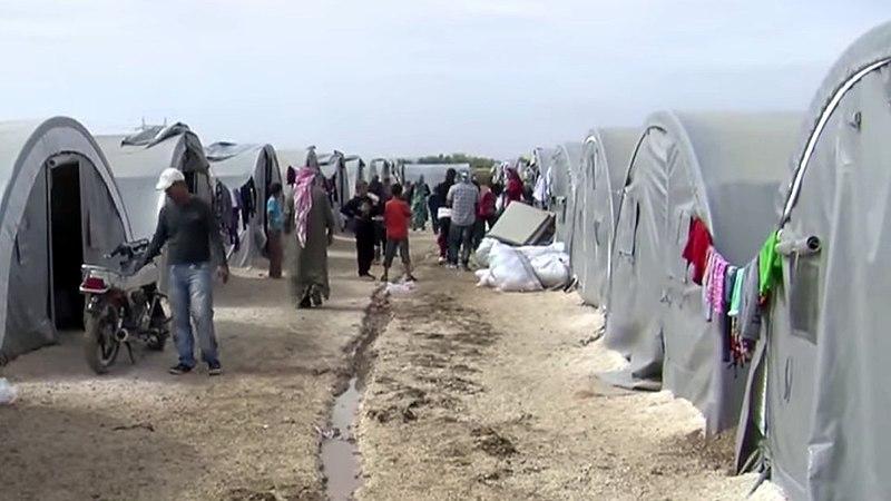 Kurdisches Flüchtlingslager in Suruç, Türkei (2014)