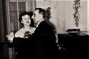 Gretl Braun - Gretl with her second husband, Kurt Berlinghoff