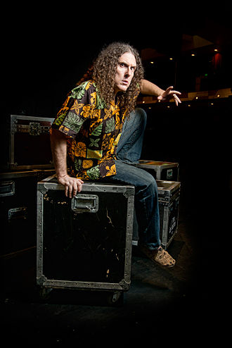 """Weird Al"" Yankovic - Yankovic, photographed by Kyle Cassidy"