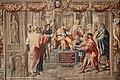 L'accecamento del mago Elima di manifattura Gobelins su cartoni di Raffaello.JPG