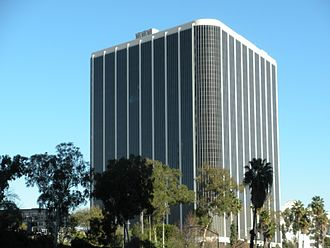 Los Angeles Unified School District - LAUSD headquarters just west of Downtown Los Angeles
