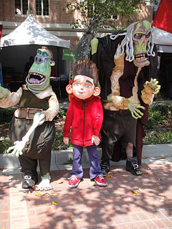 LA Times Festival of Books 2012 - Paranorman and two zombies (7104959075).jpg