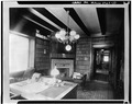 LIBRARY - Edwin H. Abbot House, 1 Follen Street, Cambridge, Middlesex County, MA HABS MASS,9-CAMB,39-10.tif