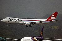 LX-VCH - B748 - Cargolux