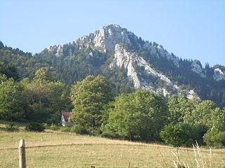 La Cochette mountain in France