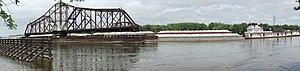 La Crosse Rail Bridge - Image: La Crosse CP rail bridge