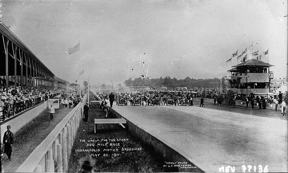 La course d%27Indianapolis 1911