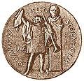 La médaille olympique à Stockholm aux JO 1912.jpg