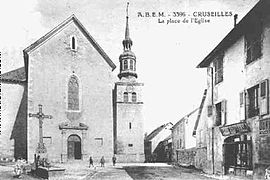 An old view of the church