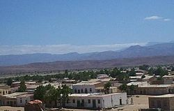 View of a residential area in old Las Khorey.