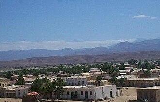 Las Khorey - View of a residential area in old Las Khorey.