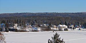 Lac-Saint-Paul, Quebec - Image: Lac St Paul QC