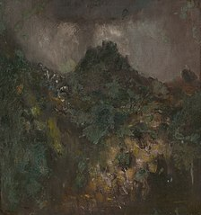 Landscape with a Castle before the Storm