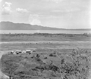 2/21st Battalion (Australia) - Laha airfield, as shown in December 1945, where the 2/21st had fought in 1942
