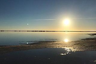 Lake Tyrrell lake in Australia
