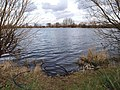 Lake near the River Calder and M1 motorway - geograph.org.uk - 732659.jpg