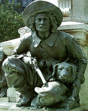 Lambert Closse - Lambert Closse statue, Maisonneuve Monument