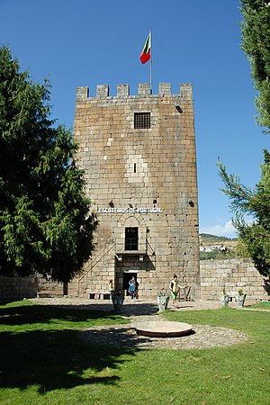 Lamego - Lamego Castle, with origins in the 5th century.