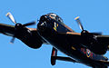 Lancaster bomber over Cowes in May 2013 8.jpg