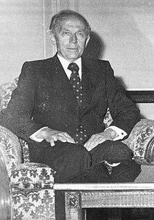 Lars Korvald Norwegian politician