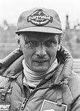 Portrait of Niki Lauda