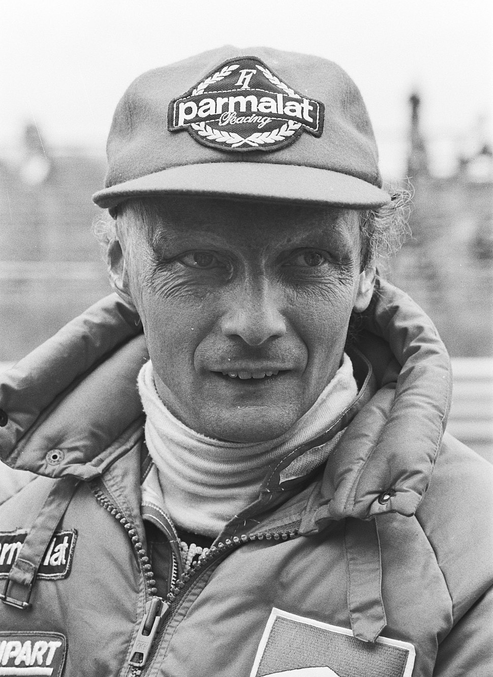 Lauda at 1982 Dutch Grand Prix