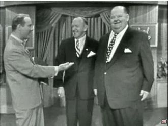 Laurel and Hardy - Laurel and Hardy on NBC's This Is Your Life December 1, 1954