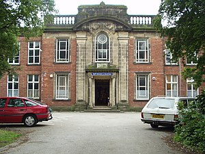 Lawnswood School - The previous buildings, vacated by the school in 2003.