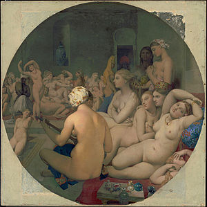 Le Bain Turc, by Jean Auguste Dominique Ingres, from C2RMF edit.jpg