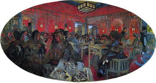 The Grand Teddy Tea Rooms Paintings