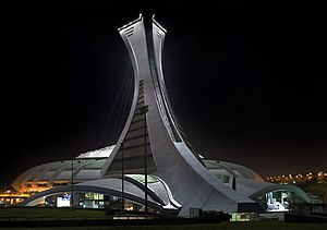 1976 Summer Olympics medal table - Montreal's Olympic Stadium (its tower completed after the Games) was the main venue for the 1976 Summer Olympics.