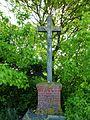 Le Tilleul-Lambert (Eure, Fr) croix de chemin Dieulacroisse.JPG