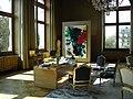 Le bureau du maire de Paris monsieur Bertrand Delanoë.jpg