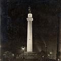Lee Circle at night Teunisson 1917.jpg