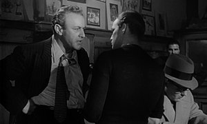 Lee J. Cobb - Cobb as Johnny Friendly with Marlon Brando as Terry Malloy in On the Waterfront (1954)