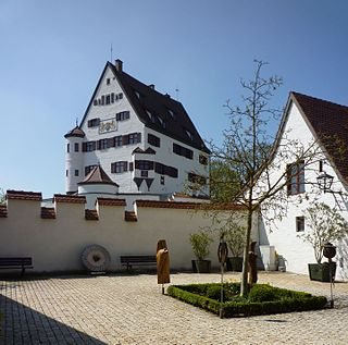 Leipheim Place in Bavaria, Germany