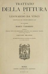 Leonardo da Vinci: Trattato della pittura di Leonardo da Vinci, condotto sul cod. Vaticano Urbinate 1270