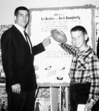 Les Richter - Richter (left) in 1959