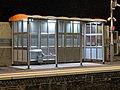 Leytonstone High Road railway station platform shelter.jpg
